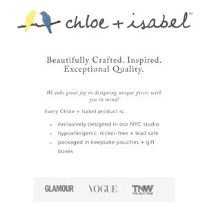Chloe + Isabel Accessories - 🆕 Crystal Drop 2 Row Y-Necklace SLVR c+i N594CLSR